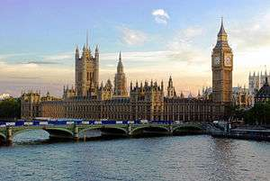 Big Ben and The Houses of Parliament, River Thames, London, UK